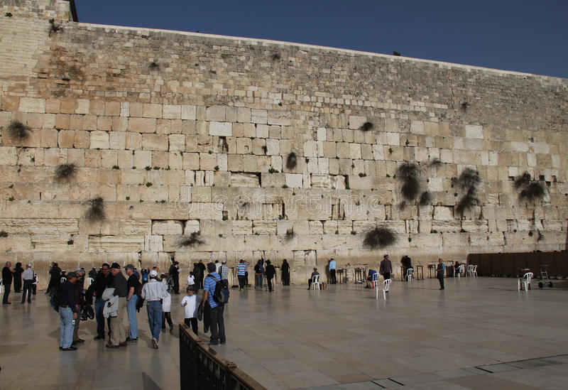 Western Wall Editorial Stock Image