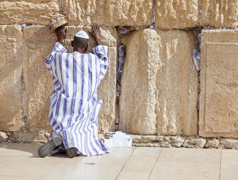 Download Western Wall editorial image. Image of orthodox, pray - 31717155