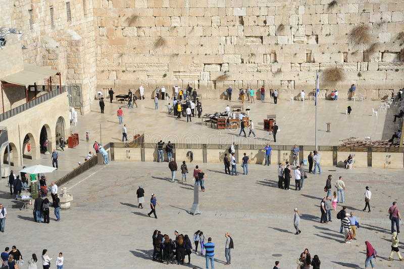 Western Wall In Jerusalem Editorial Photography