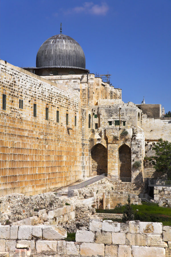 Download The Western Wall Of The Temple In Jerusalem Stock Image - Image: 9071117