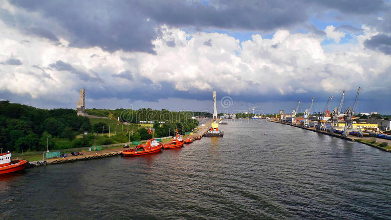 Westerplatte στοκ εικόνα με δικαίωμα ελεύθερης χρήσης