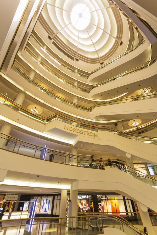 Westfield centrum handlowe, San Francisco, Kalifornia, Stany Zjednoczone Ameryka, Północna Ameryka zdjęcia royalty free