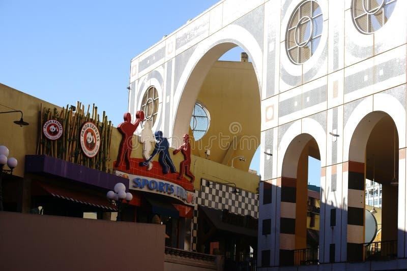 Westfield Horton Plaza San Diego immagini stock libere da diritti