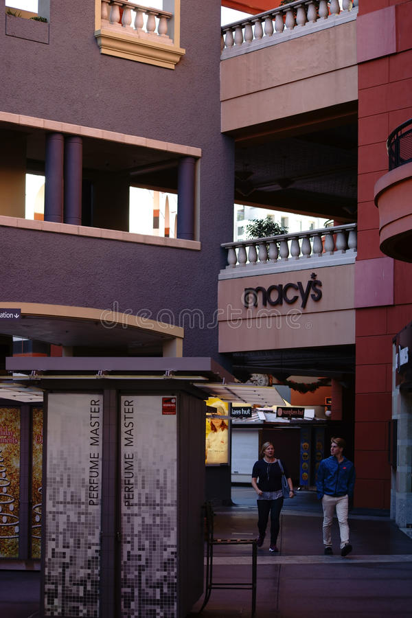 Westfield Horton Plaza San Diego lizenzfreies stockbild