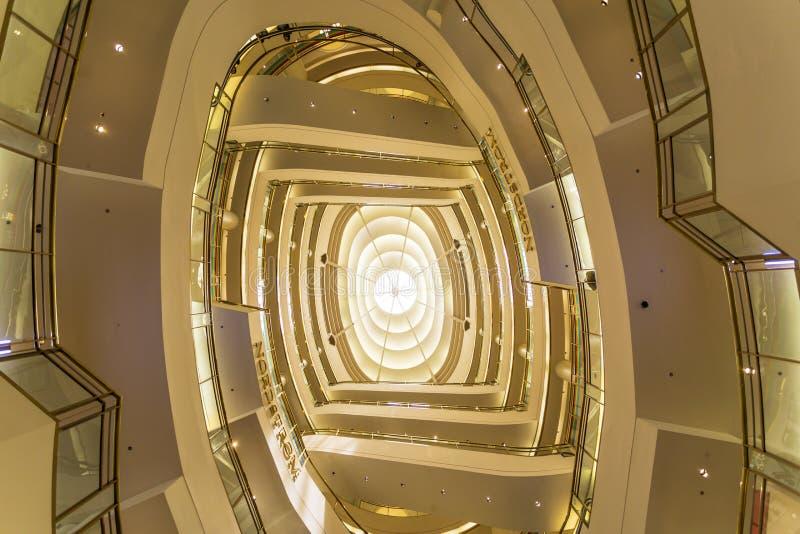 Westfield Winkelend Centrum, San Francisco, Californië, de Verenigde Staten van Amerika, Noord-Amerika stock fotografie