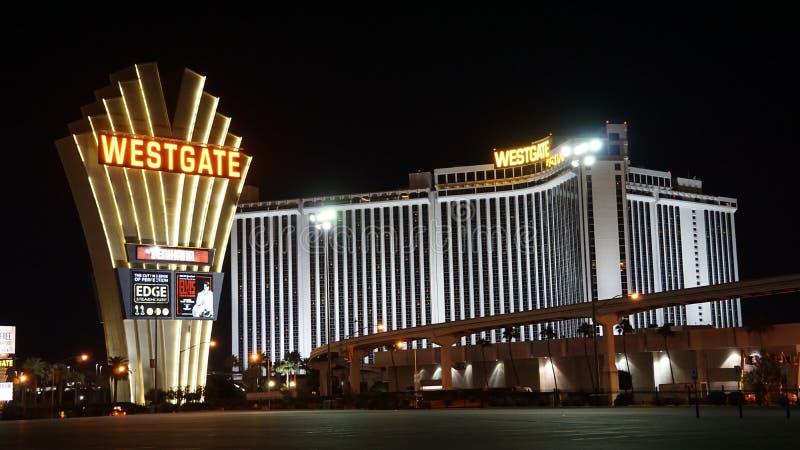Westgate Las Vegas kasyno & kurort fotografia stock