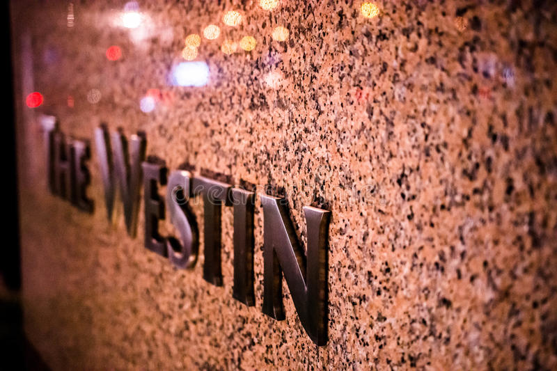 Westin photo stock