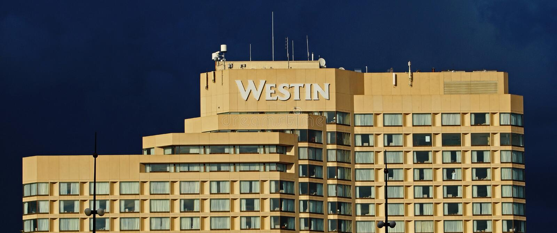 Westin building in Ottawa in Canada stock image