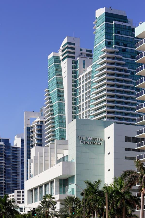 Westin dyplomata Hollywood FL obrazy royalty free