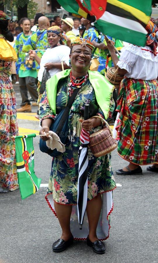Westindische amerikanische Tagesparade u. -karneval. Arbeitstag, Septembe stockbilder