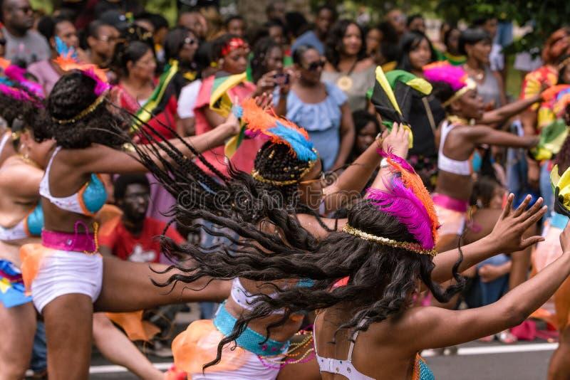 Westindische Parade Hartford Connecticut stockbilder