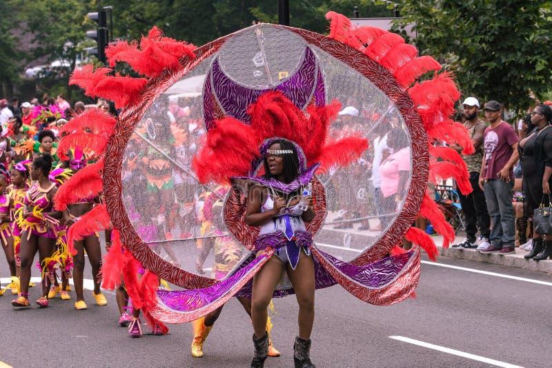 Westindische Parade Hartford Connecticut lizenzfreies stockbild
