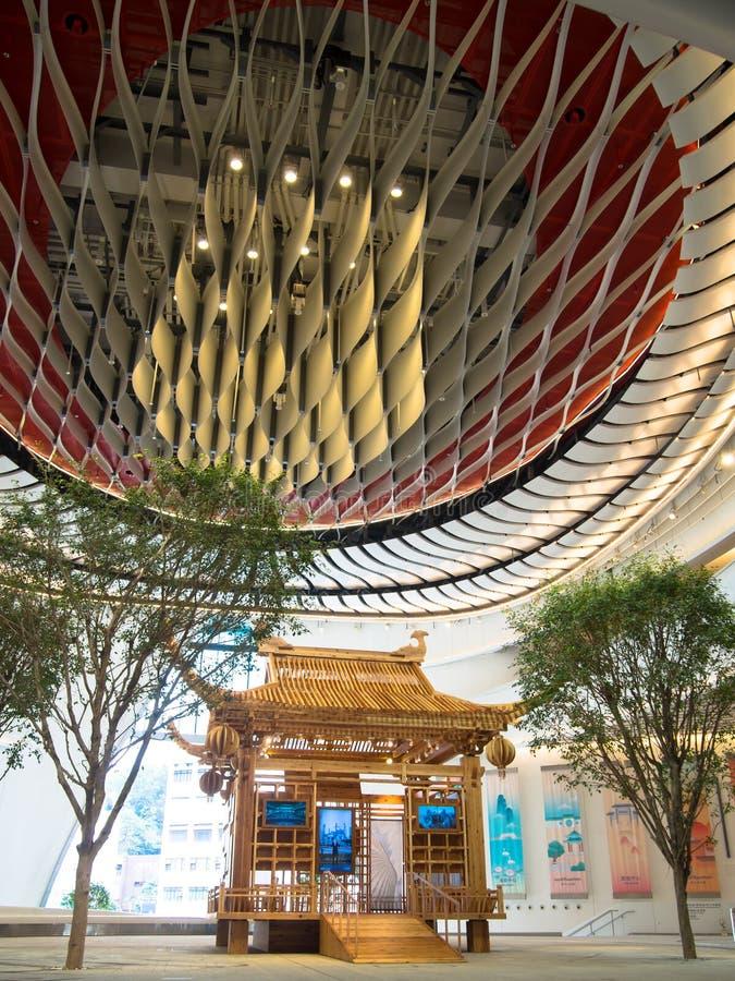 Westkowloon西曲中心在香港 库存图片