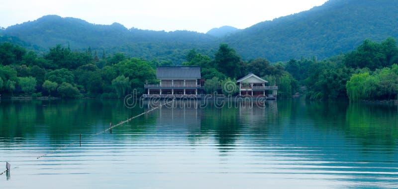 Westlake à Hangzhou, Chine photographie stock