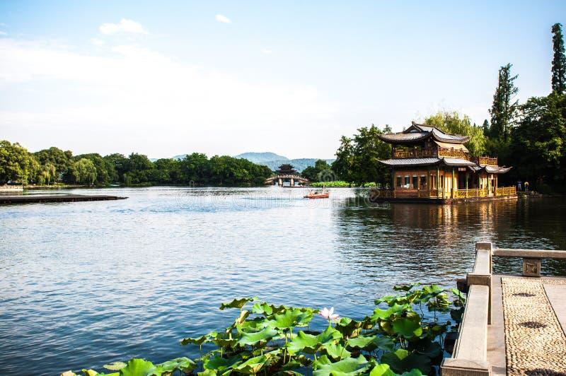 Westlake en Hangzhou, China foto de archivo libre de regalías