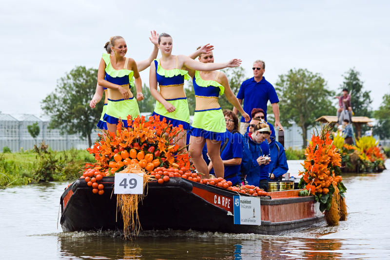 Download Westland Floating Flower Parade 2009 Editorial Photography - Image: 14644397