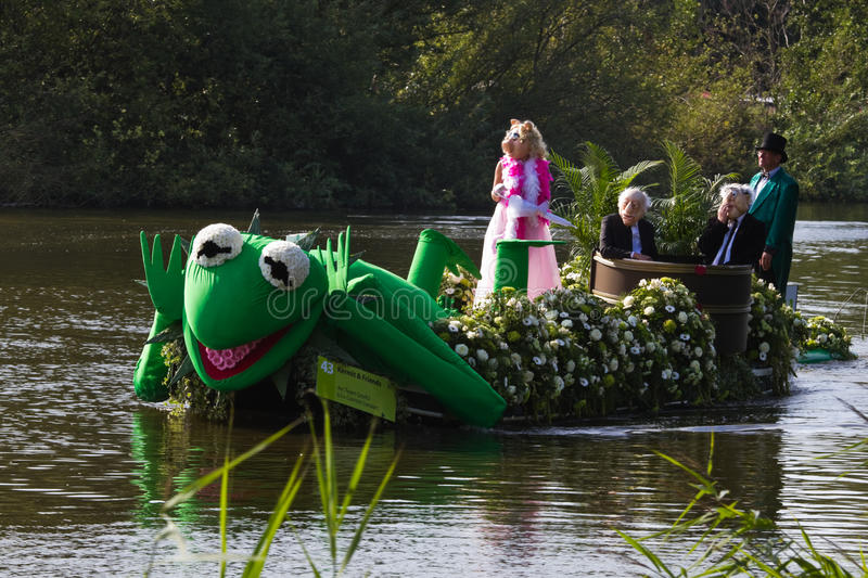 Download Westland Floating Flower Parade 2011 Editorial Photography - Image: 21129537