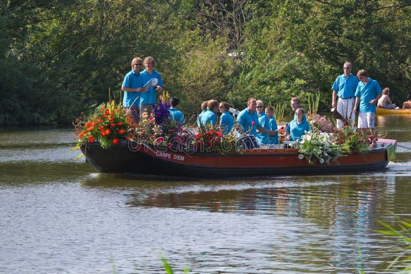 Westland Floating Flower Parade 2011 Editorial Image