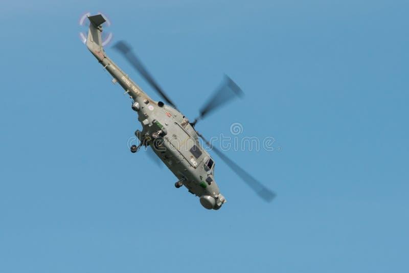 Westland-Luchs-Hubschrauber stockfotografie