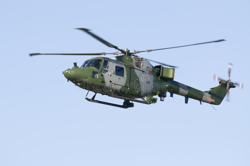Westland Lynx Helicopter royalty free stock photos