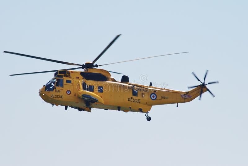 Westland Sea King HAR3 helicopter stock photography