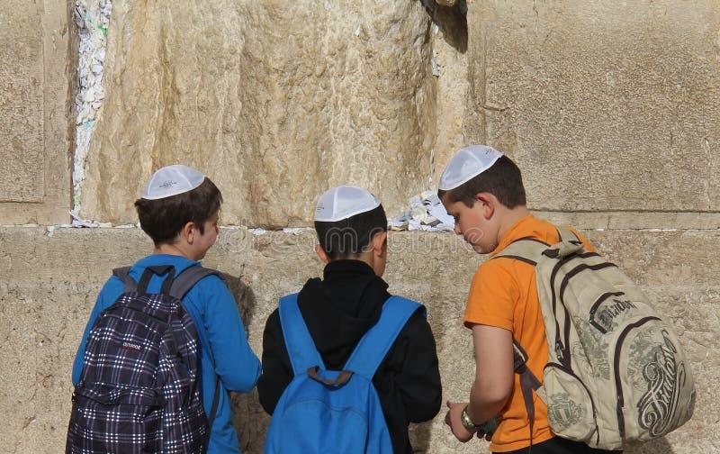 Westliche Wand (Klagemauer) Jerusalem Redaktionelles Stockfotografie