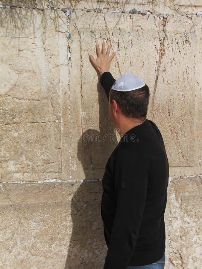 Westliche Wand (Klagemauer) Jerusalem Redaktionelles Stockbild