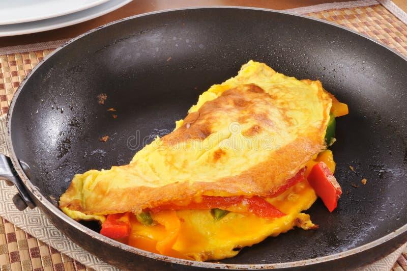 Westliches Omelett stockfotos