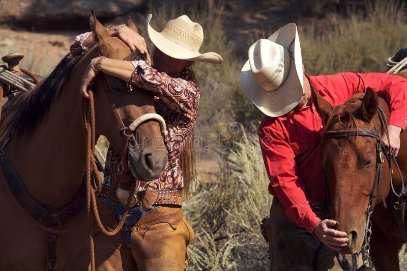 Westliches relationshi lizenzfreie stockfotos