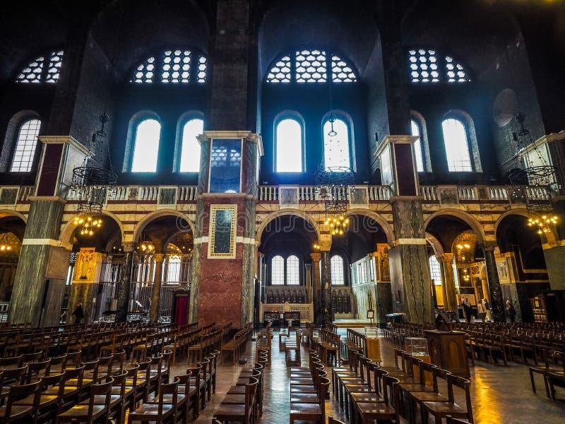 Westminister katedra w Londyn, hdr obraz royalty free