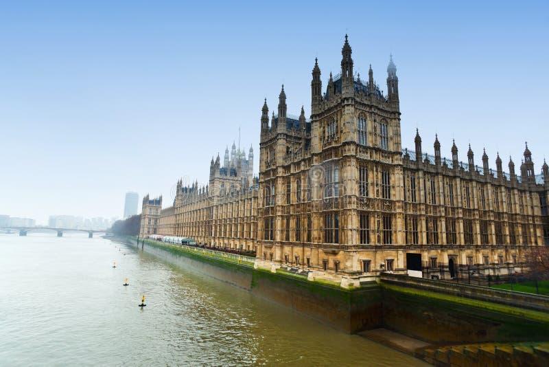 Westminister parlament fotografia stock