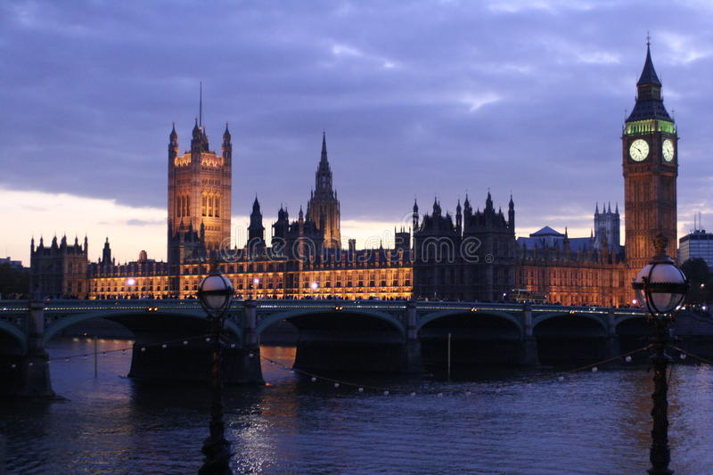 westminster stock foto's