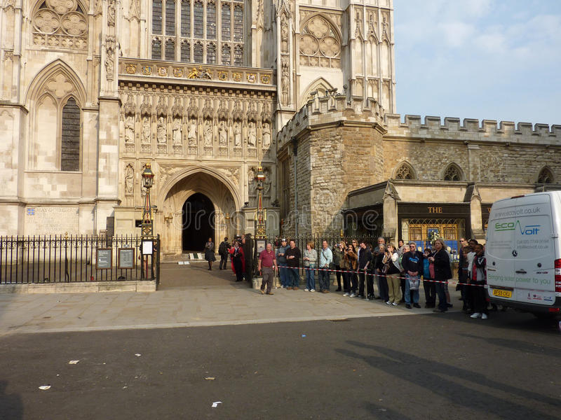 Westminster Abbey 26 April 2011 Editorial Stock Image