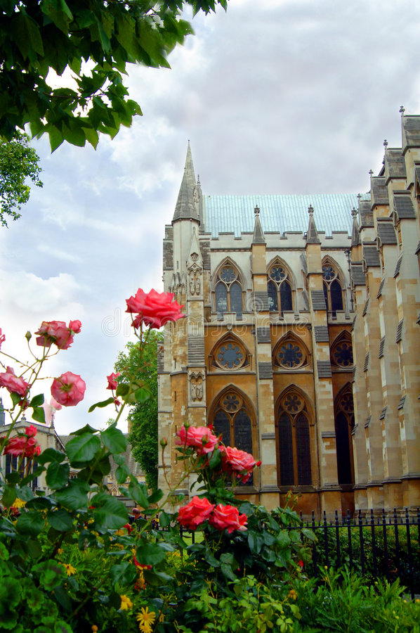 Westminster Abbey stockbilder