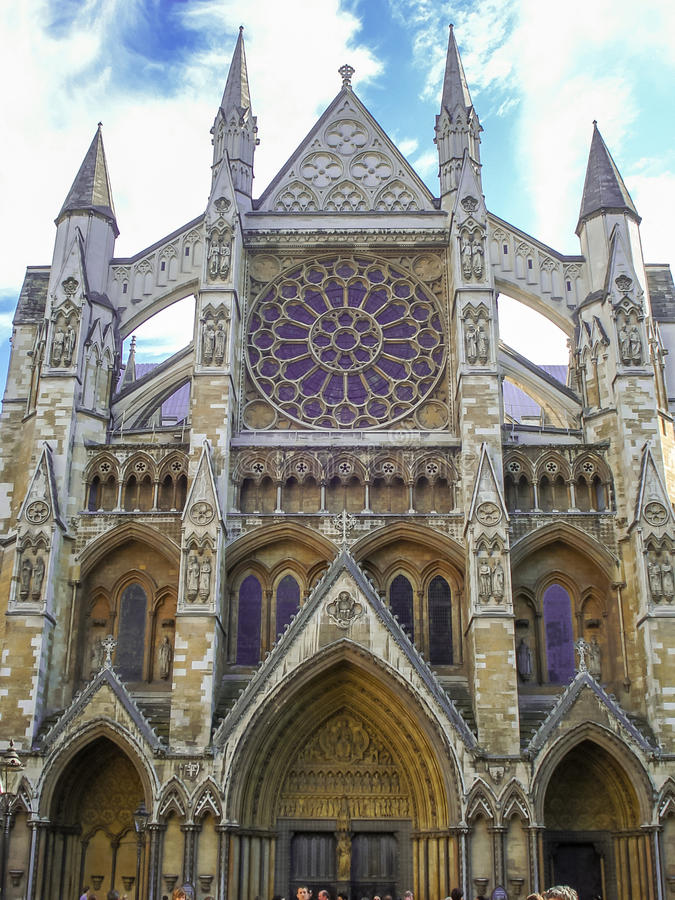 Westminster Abbey The Collegiate Church de St Peter em Westmins foto de stock royalty free