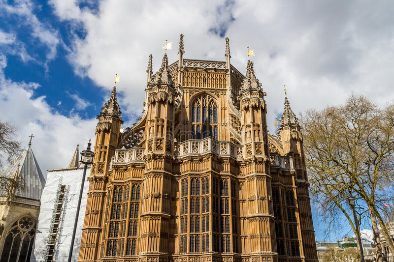 Westminster Abbey (The Collegiate Church of St Peter at Westminster) - Gothic church in City of Westminster, London. Westminster royalty free stock images