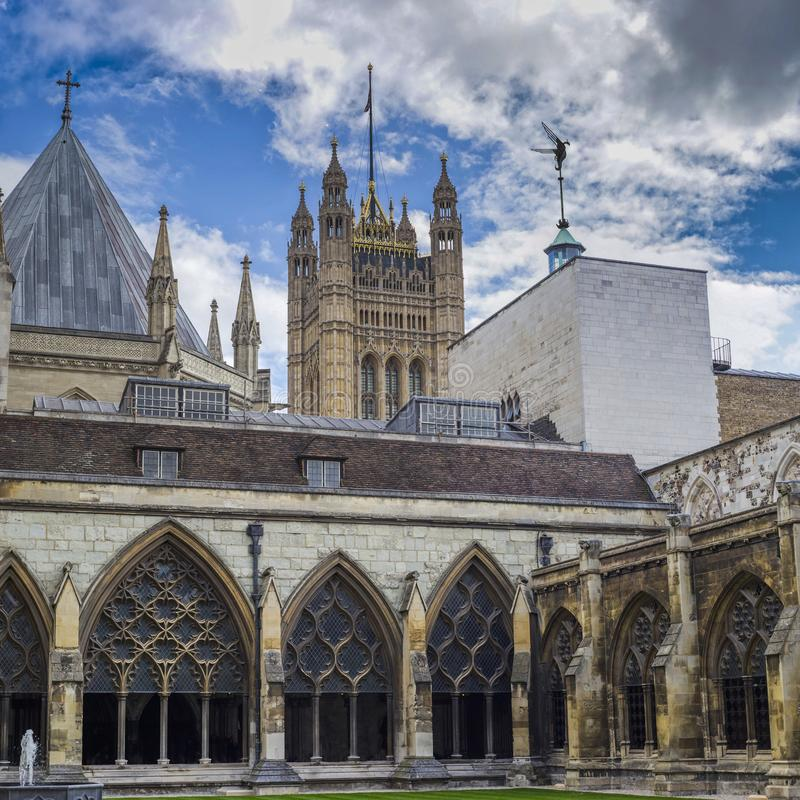 Westminster Abbey - Gothic church in City of Westminster, London. royalty free stock photo