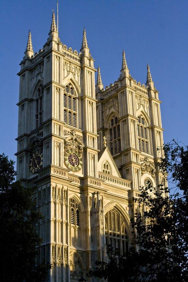 Westminster Abbey Facade Stock Photo