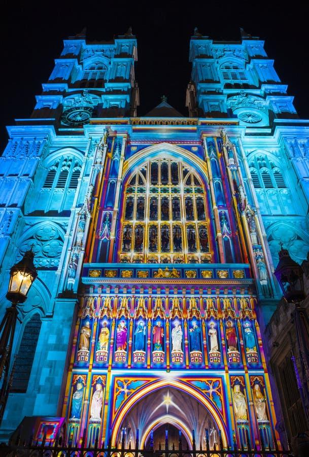 Westminster Abbey i London royaltyfria bilder