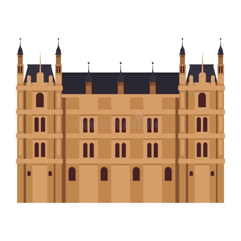 Westminster Abbey Icon ilustração royalty free