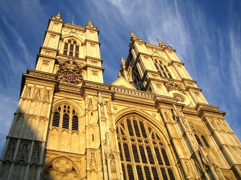 Westminster Abbey, London stockfotografie