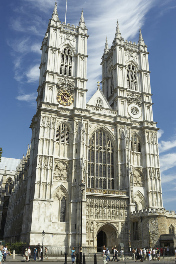 Westminster Abbey, London, England royalty free stock photography