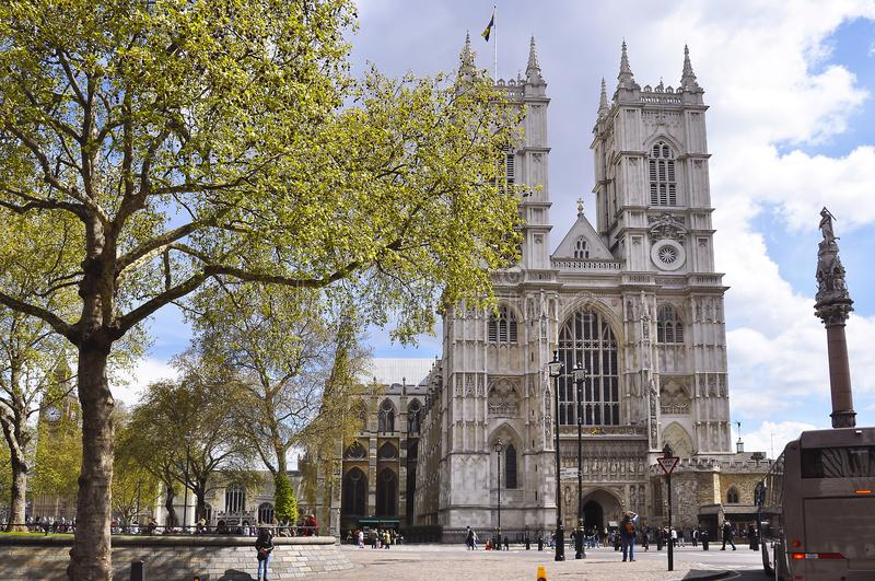 Westminster Abbey, London, United Kingdom royalty free stock photography