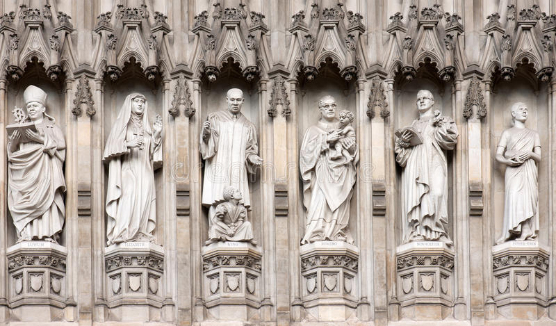 Download Westminster Abbey Statues stock photo. Image of church - 21379656