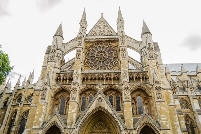 Westminster abbotskloster - London. royaltyfria bilder