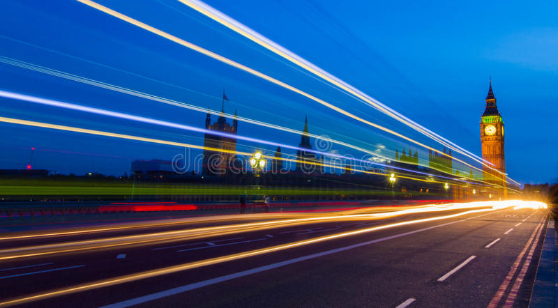 Westminster & Big Ben royalty-vrije stock foto's