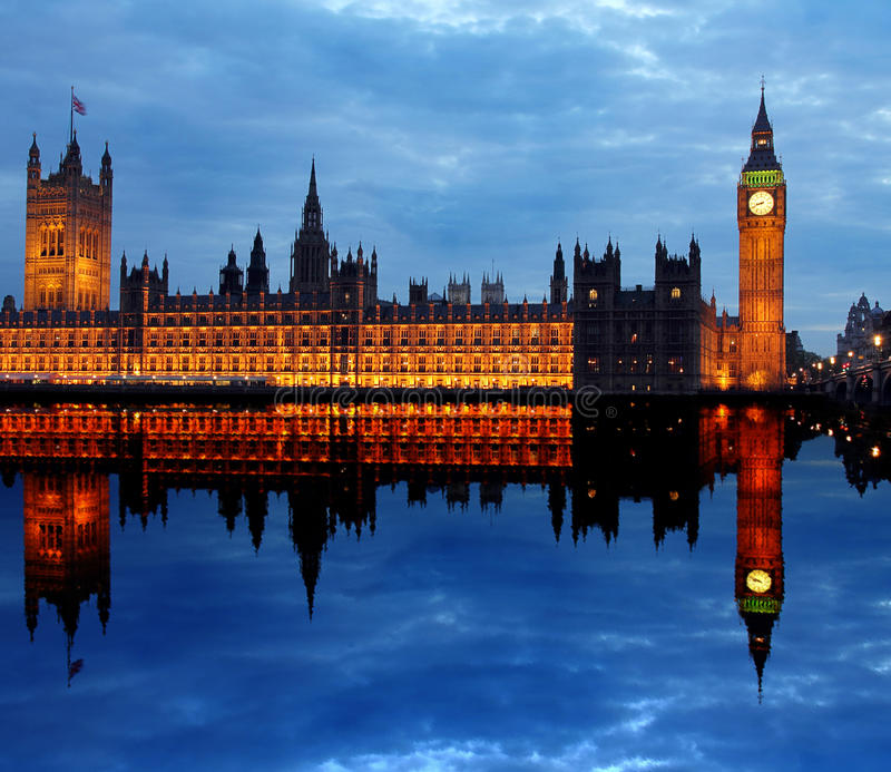 Download Westminster  With Big Ben In London Stock Photo - Image: 28120528