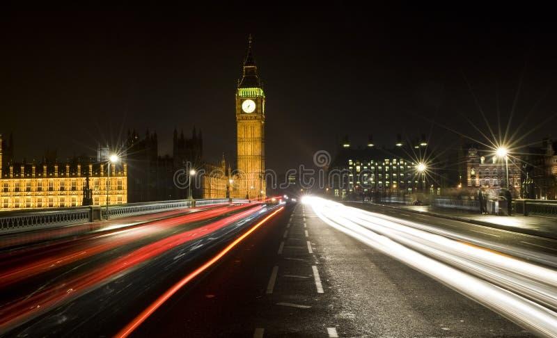 Westminster Bridge, London, England Royalty Free Stock Photos