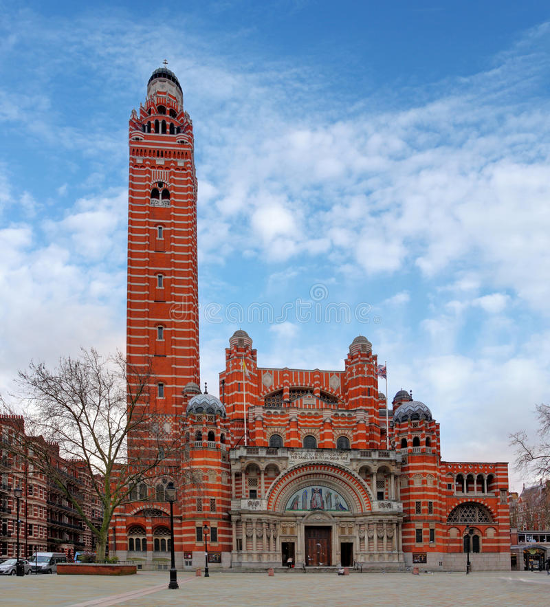 Westminster cathedral - London, UK royalty free stock photo