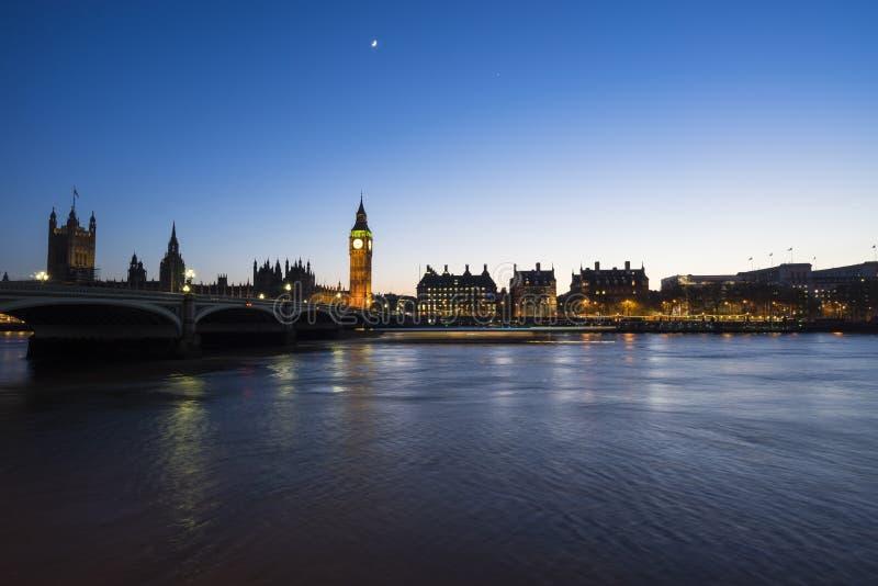 Westminster flodfärja royaltyfria bilder